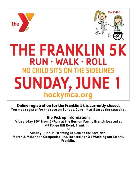 2014 Franklin 5K Run, Walk, Roll